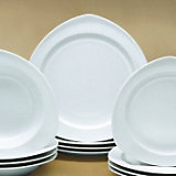 Space, dinerbord, set van 4